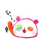 花パンダ(個別スタンプ:09)