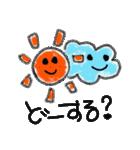 こどもの絵 お天気ver.(個別スタンプ:30)