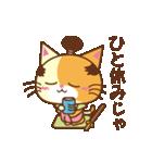 猫のニャンコ侍でござる(個別スタンプ:02)