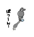 うさ子 with くまごろう(個別スタンプ:37)