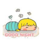 little cute worm girl(個別スタンプ:02)