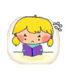 little cute worm girl(個別スタンプ:07)