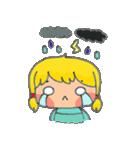 little cute worm girl(個別スタンプ:15)