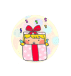 little cute worm girl(個別スタンプ:22)