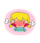 little cute worm girl(個別スタンプ:24)