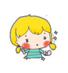 little cute worm girl(個別スタンプ:26)