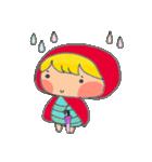little cute worm girl(個別スタンプ:37)