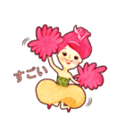Blossom Girls I (JP)(個別スタンプ:02)