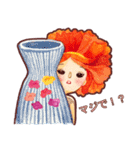 Blossom Girls I (JP)(個別スタンプ:23)