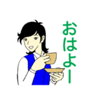 名探偵OLおさと(個別スタンプ:01)