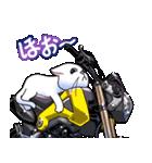 かわいいネコと原付スクーター(個別スタンプ:14)