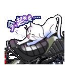 かわいいネコと原付スクーター(個別スタンプ:26)