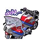 かわいいネコと原付スクーター(個別スタンプ:28)