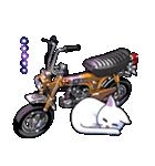 かわいいネコと原付スクーター(個別スタンプ:38)