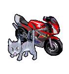 かわいいネコと原付スクーター(個別スタンプ:40)