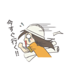 ArchyGirl (Japanese Ver.)(個別スタンプ:16)