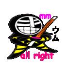 覆面剣士3 Masked swordsman(個別スタンプ:03)