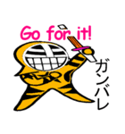 覆面剣士3 Masked swordsman(個別スタンプ:07)