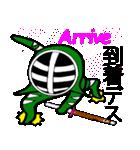 覆面剣士3 Masked swordsman(個別スタンプ:21)