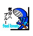 覆面剣士3 Masked swordsman(個別スタンプ:34)