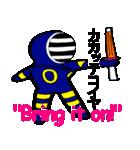 覆面剣士3 Masked swordsman(個別スタンプ:35)