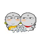 ほくろ地蔵 meets そばかす地蔵(個別スタンプ:24)