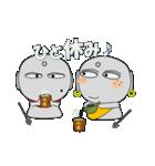ほくろ地蔵 meets そばかす地蔵(個別スタンプ:33)