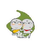 ほくろ地蔵 meets そばかす地蔵(個別スタンプ:40)
