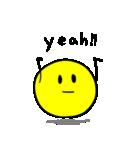 やんわりYellow Ball(個別スタンプ:03)