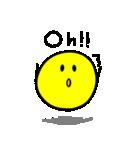 やんわりYellow Ball(個別スタンプ:10)