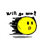やんわりYellow Ball(個別スタンプ:18)