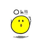 やんわりYellow Ball(個別スタンプ:19)