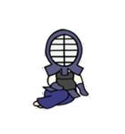 女子剣道部 ゆる美ちゃん(個別スタンプ:02)