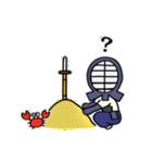 女子剣道部 ゆる美ちゃん(個別スタンプ:13)