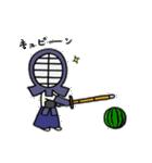 女子剣道部 ゆる美ちゃん(個別スタンプ:14)