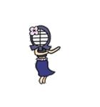 女子剣道部 ゆる美ちゃん(個別スタンプ:17)