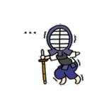 女子剣道部 ゆる美ちゃん(個別スタンプ:23)
