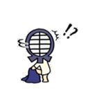 女子剣道部 ゆる美ちゃん(個別スタンプ:25)