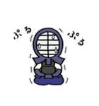 女子剣道部 ゆる美ちゃん(個別スタンプ:28)