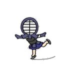 女子剣道部 ゆる美ちゃん(個別スタンプ:30)