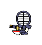 女子剣道部 ゆる美ちゃん(個別スタンプ:35)