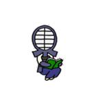 女子剣道部 ゆる美ちゃん(個別スタンプ:36)