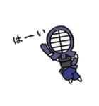 女子剣道部 ゆる美ちゃん(個別スタンプ:37)