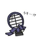 女子剣道部 ゆる美ちゃん(個別スタンプ:39)