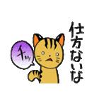 絶滅危惧種ねこ(つしまやまねこ)(個別スタンプ:05)