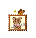 くまショコラ(個別スタンプ:01)
