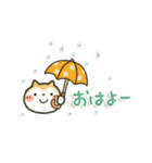 「まるちゃん」のひかえめスタンプ(個別スタンプ:02)