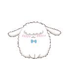 もふっとアンゴラウサギ(個別スタンプ:09)