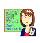 Easy英会話スタンプ by Mirai-chan 2(個別スタンプ:03)