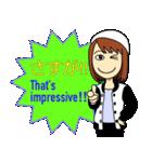 Easy英会話スタンプ by Mirai-chan 2(個別スタンプ:35)